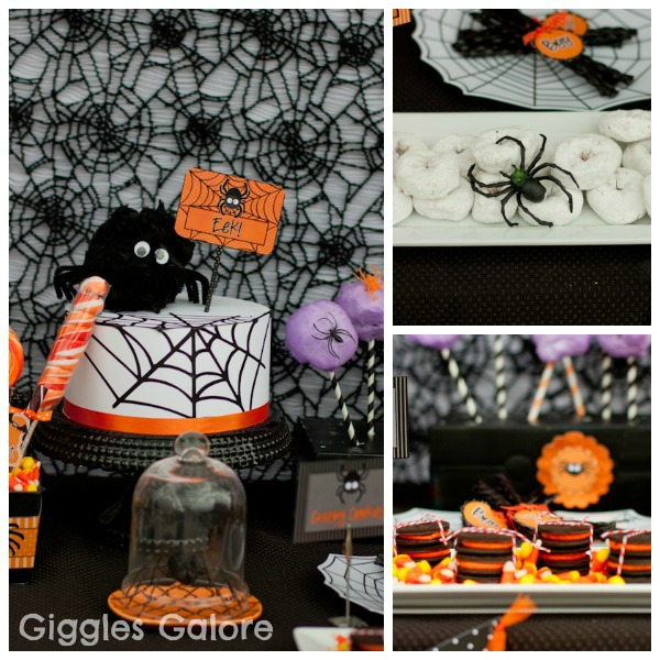 party themed dcor ideas for halloween