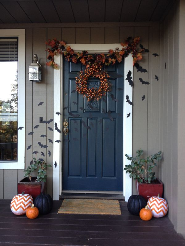 The Best 35 Front Door Decors For This Yearu0027s Halloween