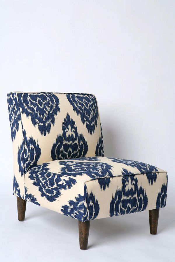 Awesome Ikat Slipper Chair.