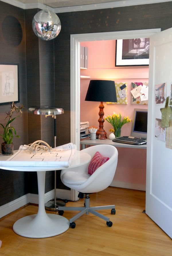 Efficient And Stylish Small Home Offices Home Design Ideas