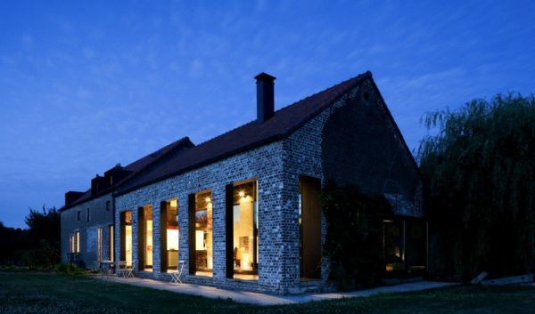 Old Farmhouse Converted Into A Contemporary Family Home In