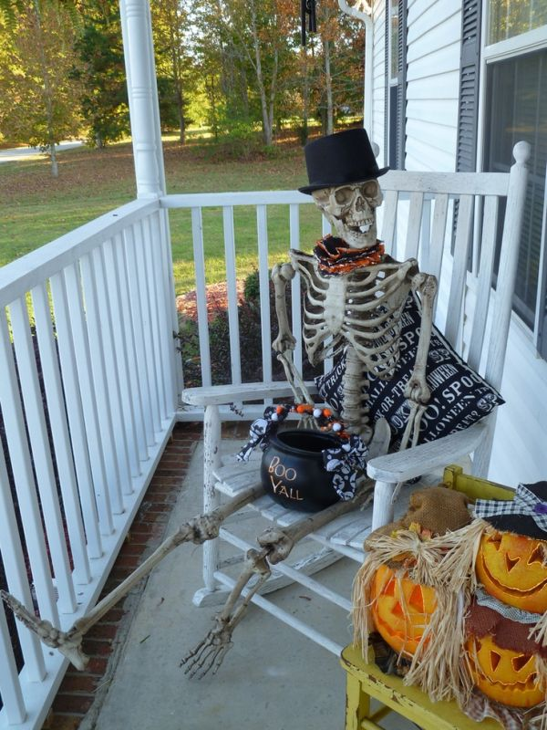 home decorating trends homedit - Decorating Outside For Halloween