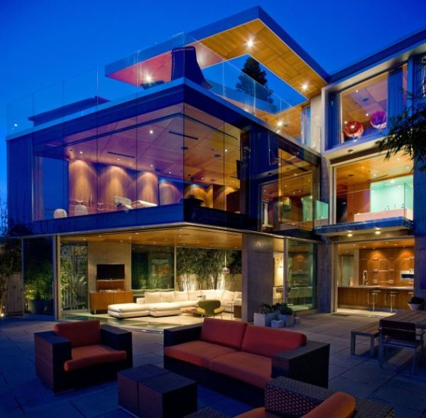View In Gallery. This Glass Inspired House Is A Beautiful ... Awesome Design