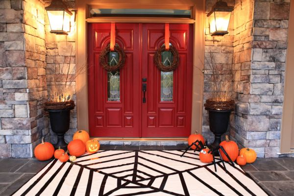 view in gallery - Halloween Front Doors