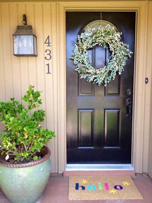 10 Fun DIY Doormat Hacks To Spruce Up Your Doorway