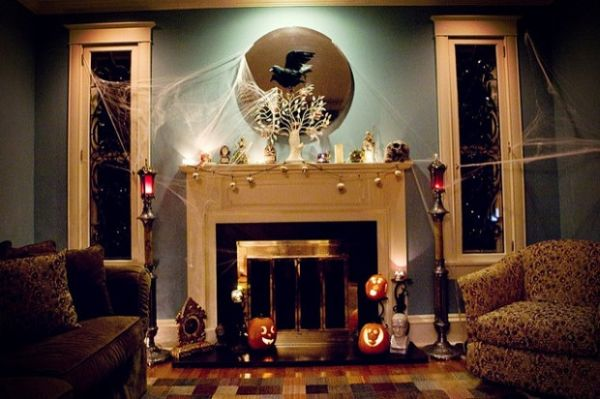 Halloween Decor Inspiration Inside And Out