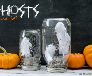 Ingenious Mason Jar Halloween Decoration Ideas