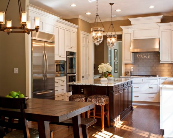Modern Traditional Kitchens a look at traditional contemporary kitchens