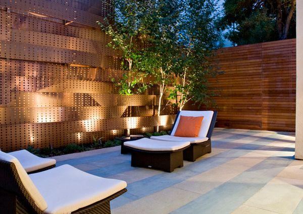 provoking practical privacy fences. Black Bedroom Furniture Sets. Home Design Ideas