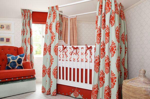 Crib Curtains.
