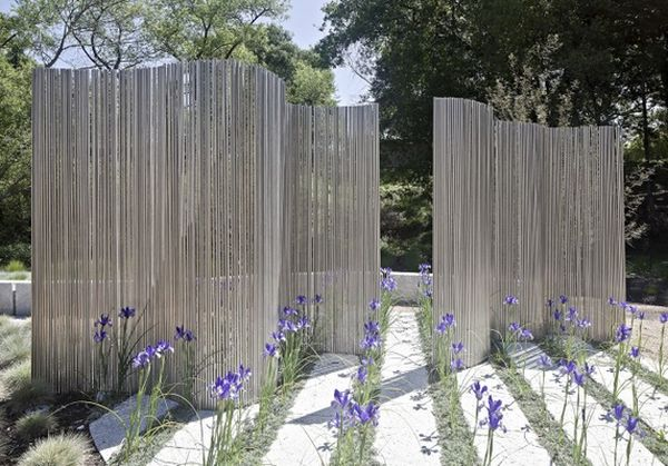 Provoking practical privacy fences for Garden windbreak designs