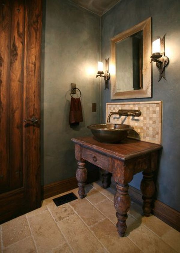 old world bathroom ideas