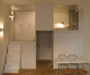 Tiny 28 Square Metre Apartment Designed Like A Puzzle