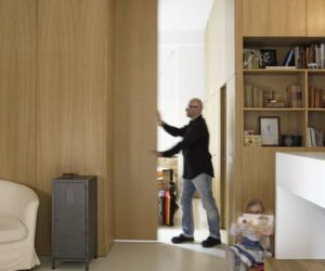 Innovative And Functional Apartment Divided Into Nine Boxes