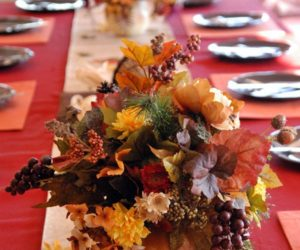 Pass the Pumpkins: Thanksgiving Centerpiece Concept