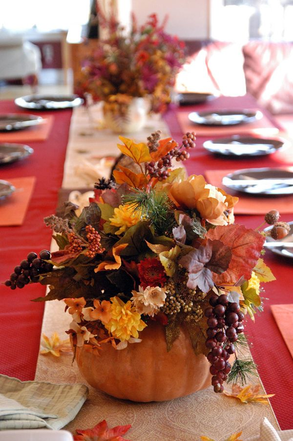 pass the pumpkins thanksgiving centerpiece ideas - Thanksgiving Centerpieces Ideas