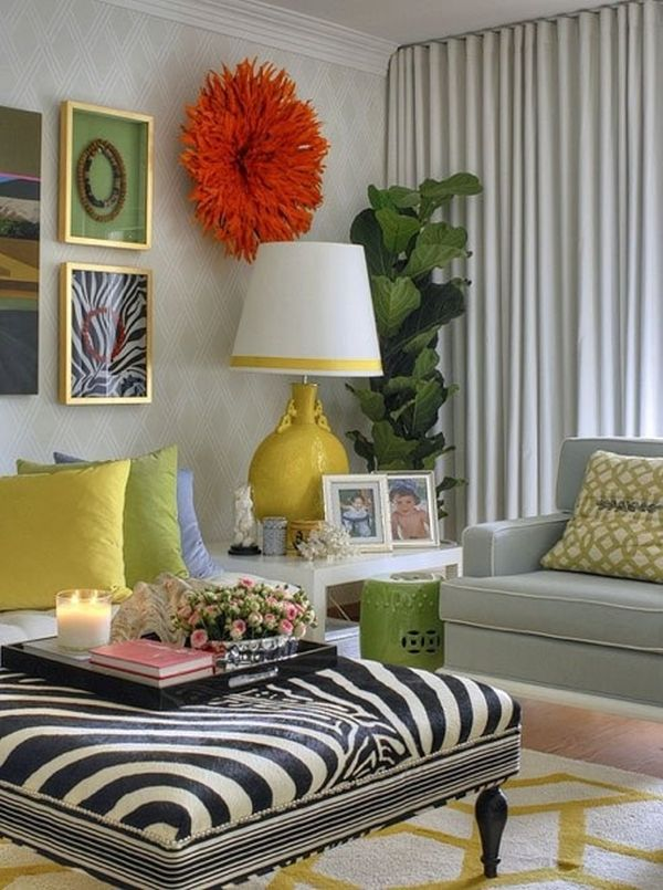 How to achieve an eclectic style for Eclectic living room design ideas