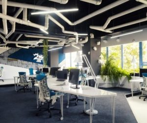 The New Game Studio 2o Office Has A Spaceship-Like Interior