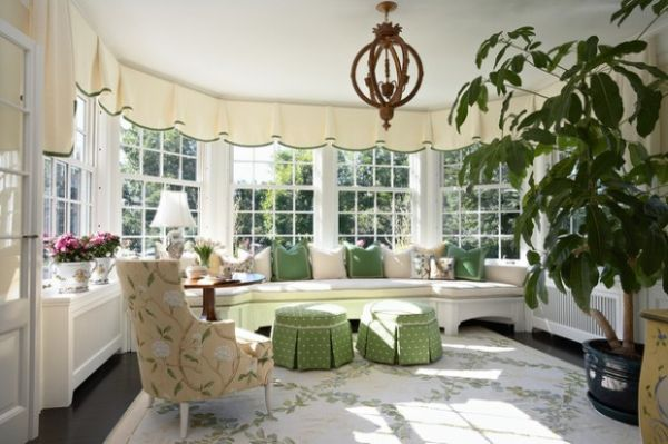 Decorating with 80 39 s style ideas and inspiration for Victorian sunroom designs