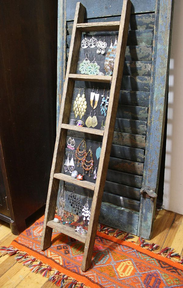 40 Ways To Stay Organized With DIY Jewelry Holders Extraordinary How To Make A Jewelry Stand Display