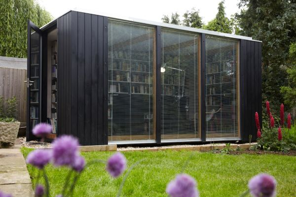 Superb Modular Library Studio With A Flexible Design And A Prefab System