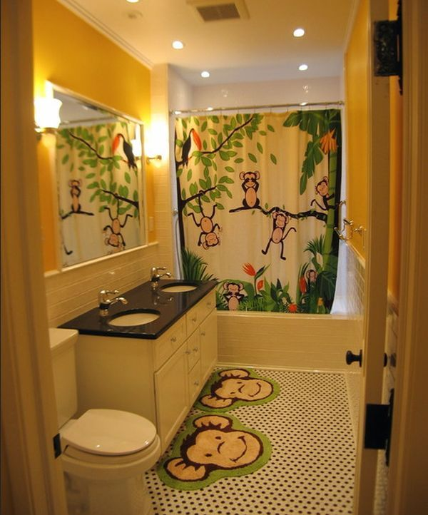 Delightful 30 Playful And Colorful Kidsu0027 Bathroom Design Ideas