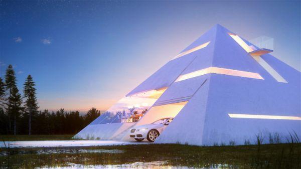 Simple Facade House