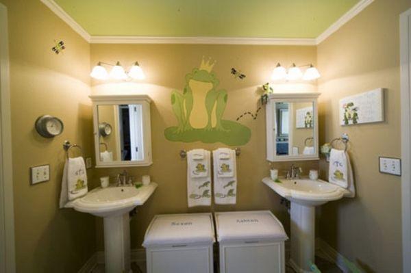 30 playful and colorful kids bathroom design ideas - Simple kids bathroom ...