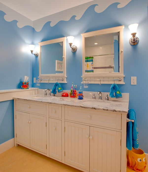 Bathroom Kids 30 playful and colorful kids' bathroom design ideas