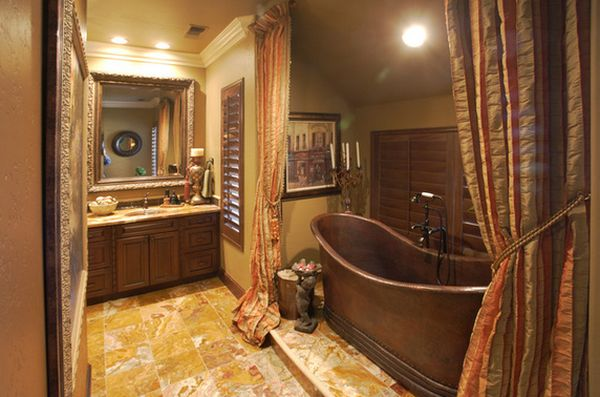 view in gallery - Copper Bathtub
