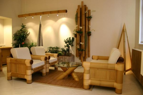 easy bamboo interior decoration.  Bamboo Furniture Ideas and Inspiration