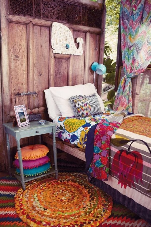 how to achieve bohemian or boho chic style. Black Bedroom Furniture Sets. Home Design Ideas