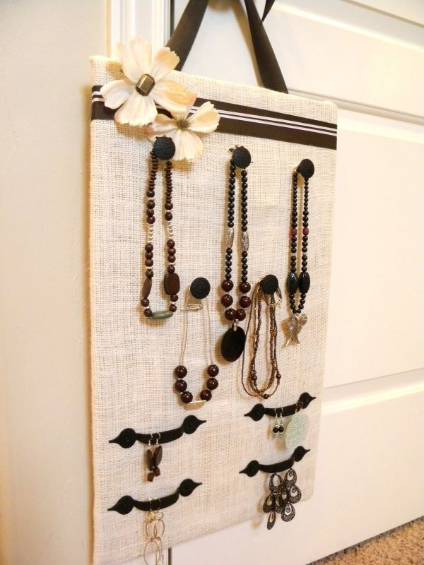 40 Ways To Stay Organized With DIY Jewelry Holders Stunning How To Make A Jewelry Stand Display