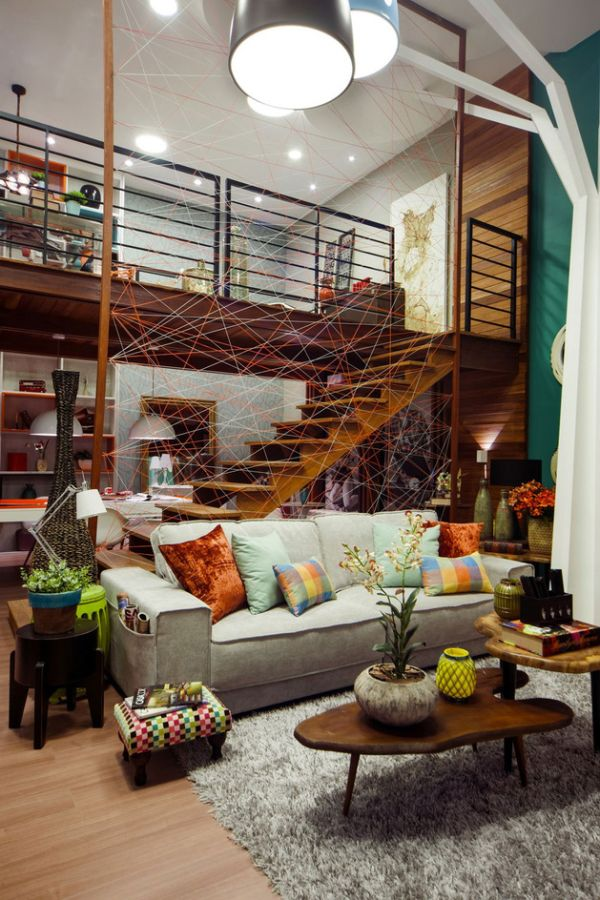 The Eclectic Casa Cor Design– A Combination Of Bold Colors And ...