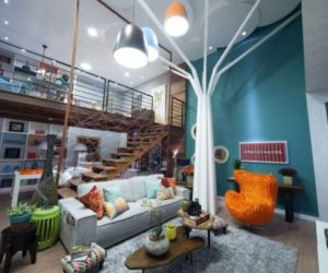 The Eclectic Casa Cor Design– A Combination Of Bold Colors And Unusual Accent Details