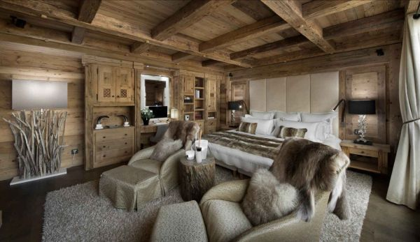 25 cozy and welcoming chalet bedrooms ideas - Deco style chalet moderne ...