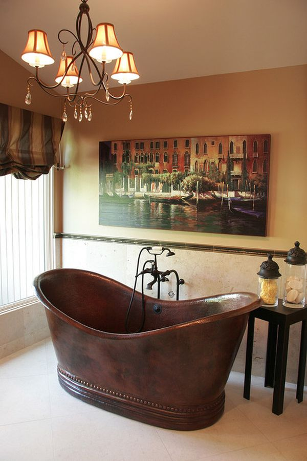 home decorating trends u2013 homedit - Copper Bathtub