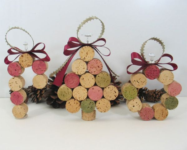 view in gallery - Recycled Christmas Ornaments