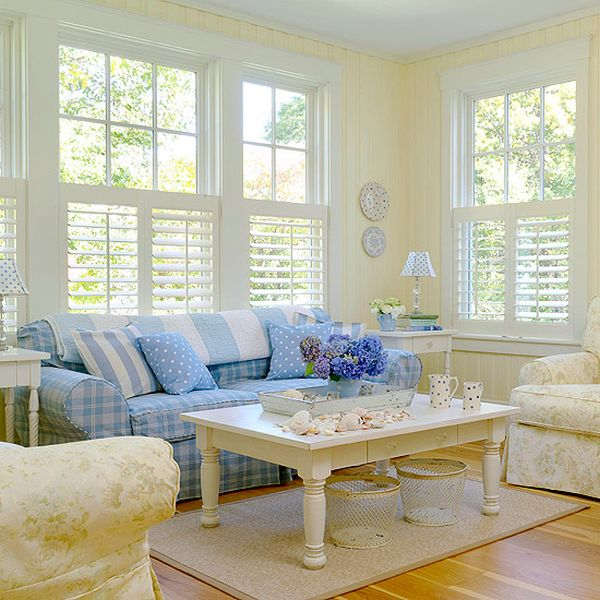 How to achieve a cottage style for Cottage style family room