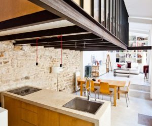 Artist's Workshop Successfully Transformed Into A Loft