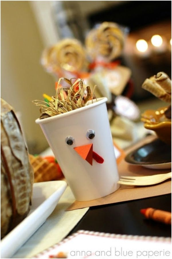 Diy kid friendly table decorations for your thanksgiving