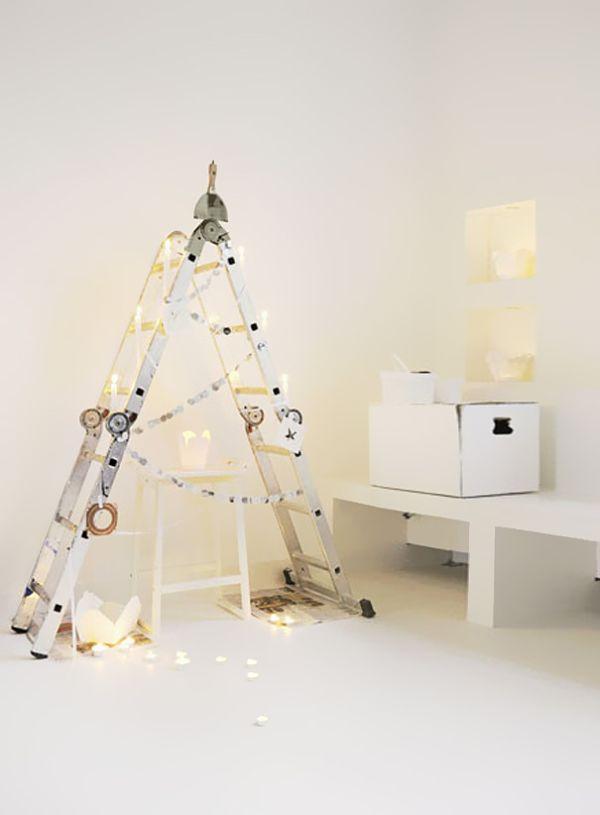 15 NonTraditional Christmas Tree Ideas