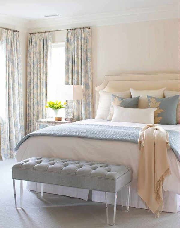 Cream and blue hued rooms ideas and inspiration Blue and brown bedroom ideas for decorating