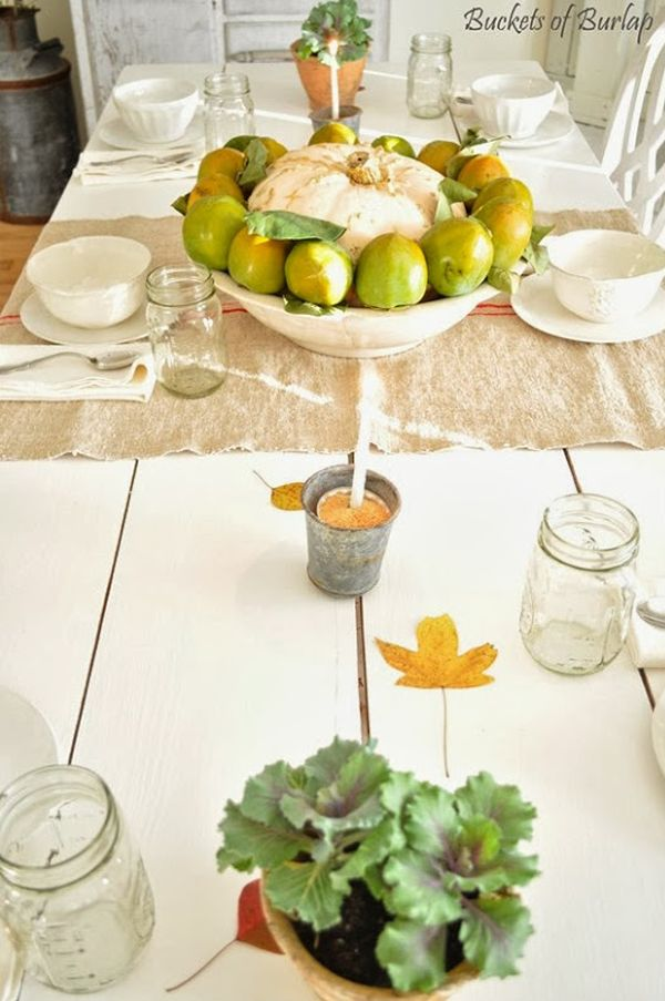 : table settings for thanksgiving ideas - pezcame.com