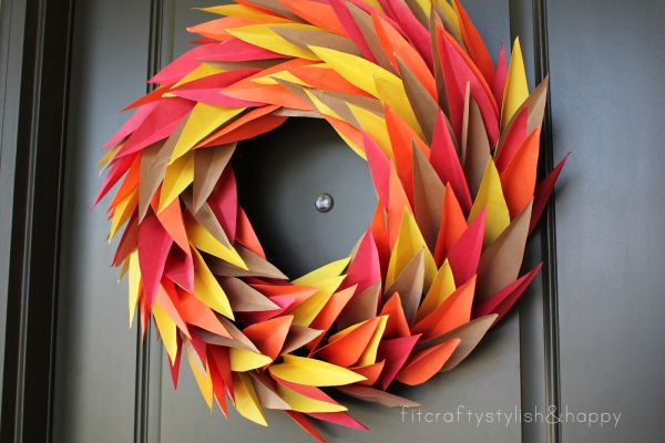 Thanksgiving wreaths that will put your home over the top