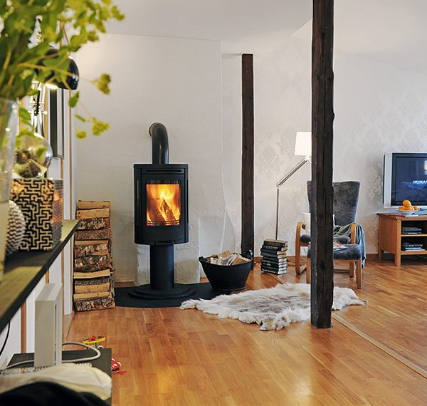 100 fireplace design ideas for a warm home during winter - House plans with fireplaces ...