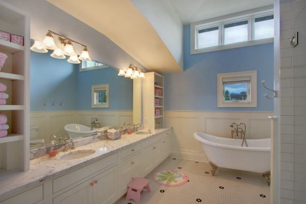 Playful Kids Bathroom Decoration Ideas · View In Gallery ...