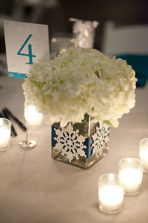 Easy winter centerpiece ideas
