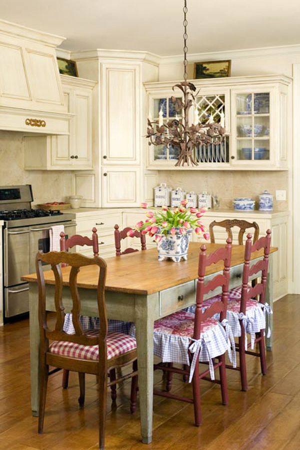 French Country Style Kitchen Furniture how to achieve a french country style