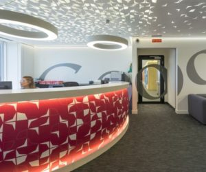 Google's Madrid Headquarters – A Playful Mix Of Colors And Geometric Shapes